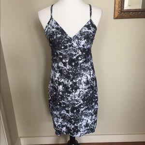 NWOT Athleta printed Zumma Swim Dress. Size M